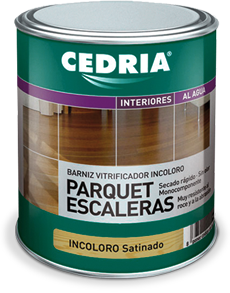 CEDRIA VARNISH PARQUET STAIRS