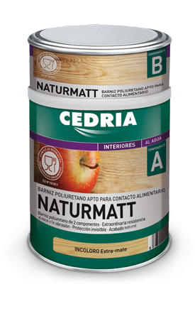 CEDRIA Naturmatt Varnish